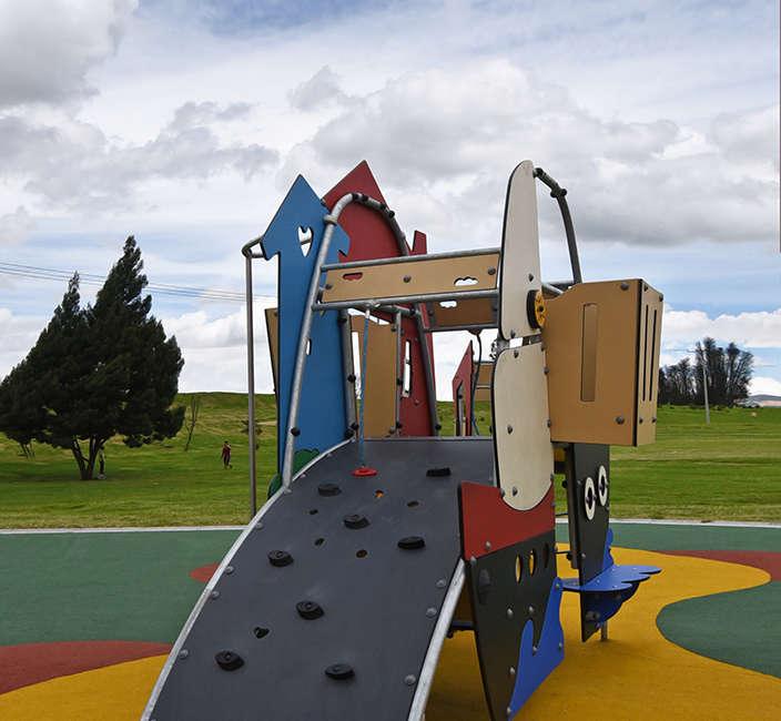 Parque infantil Zona Franca Bogota Colombia